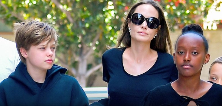 Angelina Jolie: How Back-To-School Shopping Changed For The Mom Of 2 Teen Girls, Shiloh & Zahara
