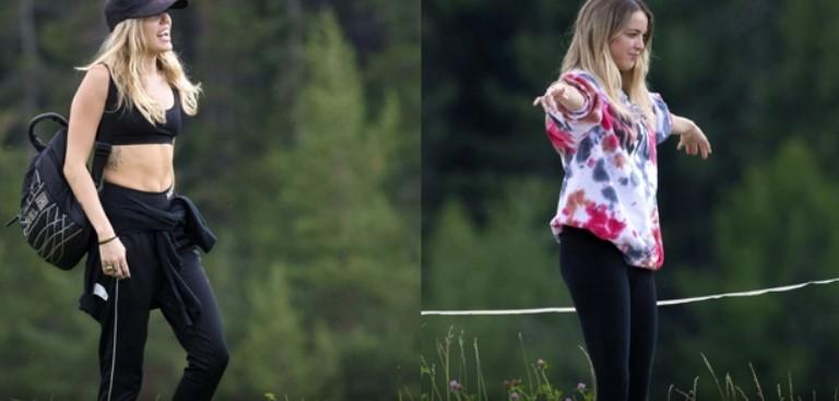 Miley Cyrus & Brody Jenner's Ex Kaitlynn Carter Kiss & Cuddle Amid Liam Hemsworth Split News