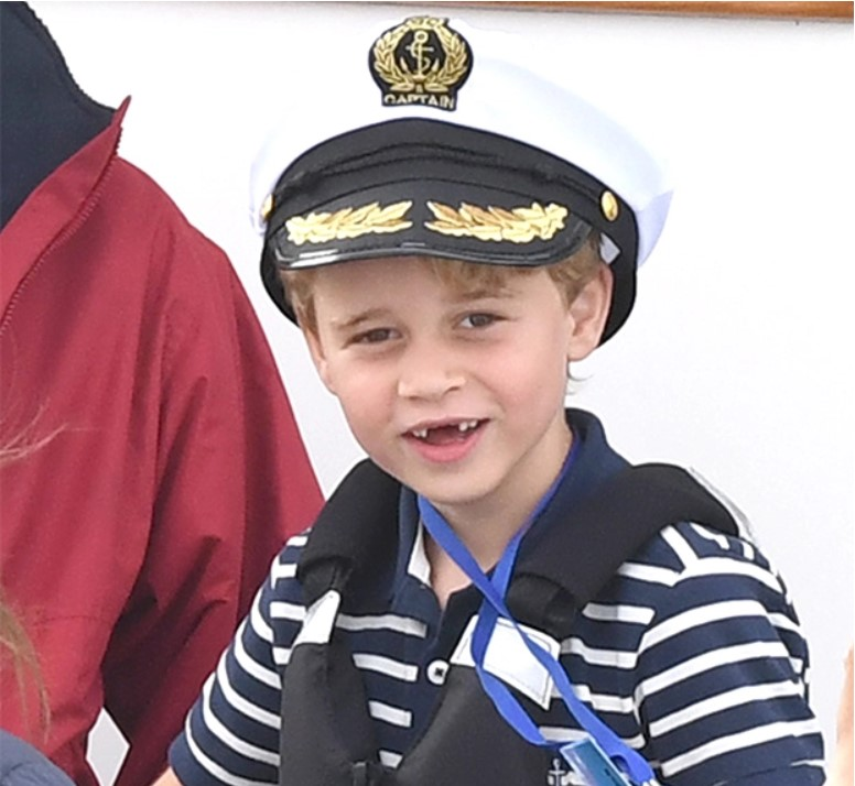 Prince George, 6, Proudly Shows Off His Missing Front Teeth While Sailing With Royal Family