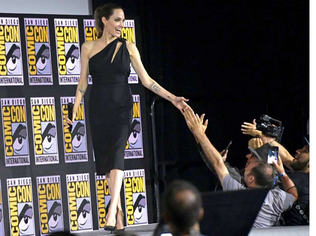 """Angelina Jolie Says She's Pushing Herself After Not Feeling """"Strong"""" the Last Few Years"""