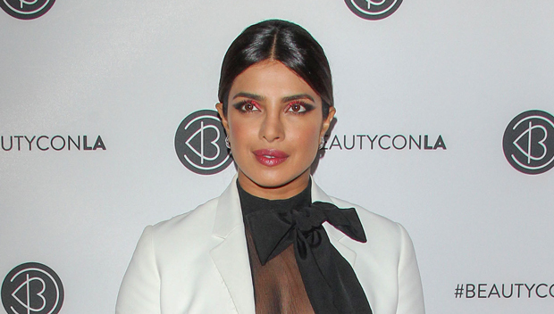 Priyanka Chopra Wears Nothing Under Sexy See-Through Top At BeautyCon