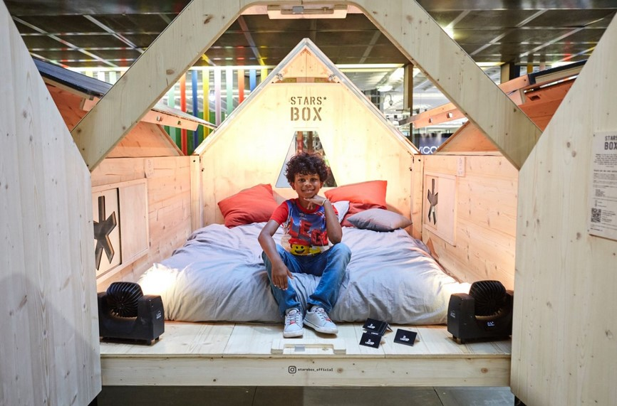 The Playful Living & Style Piccoli space at Pitti Bimbo for the first time