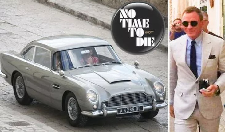 James Bond No Time To Die set photos: Daniel Craig heads to Italy for 007 shoot