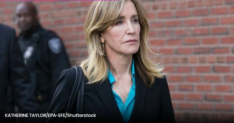 Felicity Huffman Officially Reports ToPrison To Serve 14 Day Sentence AfterAdmissions Scandal