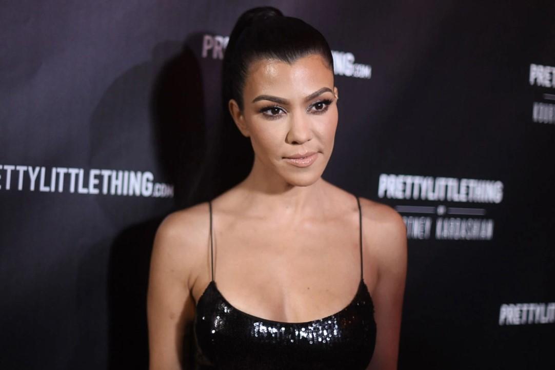 Kourtney Kardashian Gets Cheeky WhileWearing Next To Nothing InSmoldering Selfie