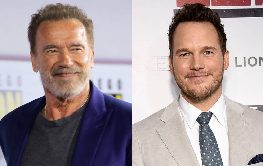 Chris Pratt Had to Earn Arnold Schwarzenegger's Approval At the Gym, Of Course