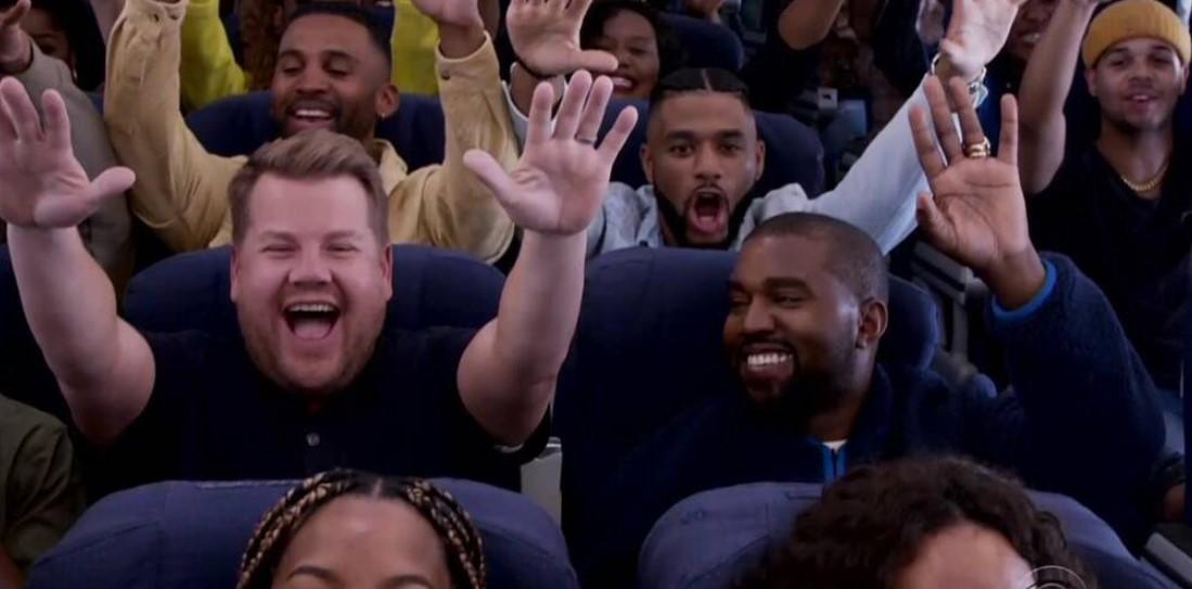 Kanye West Finally Did Carpool Karaoke, But On a Plane