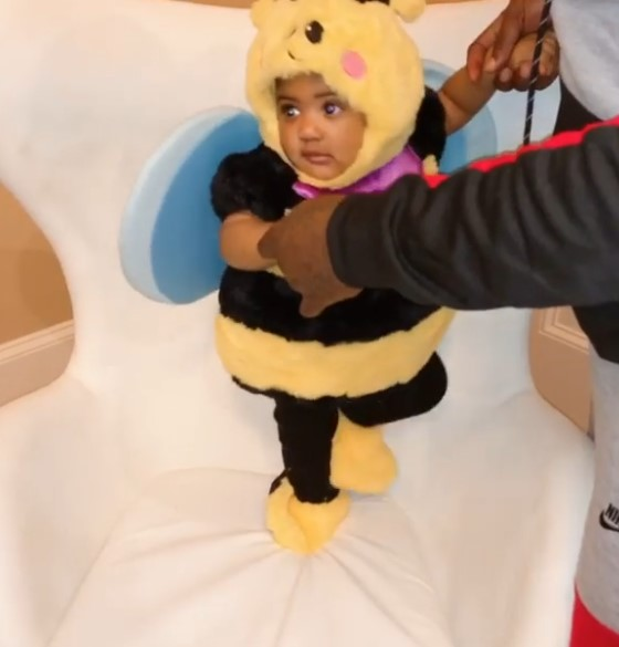 Porsha Williams' Daughter, Pilar, 7 Mos, IsAn Adorable Bumble Bee For 1stHalloween