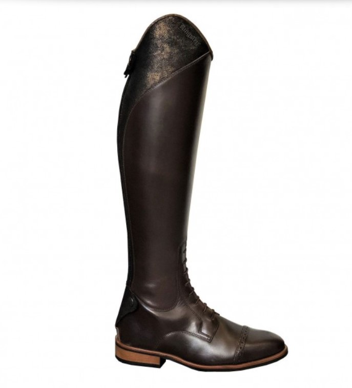 Olbia Brown Riding Boots with Paula Top