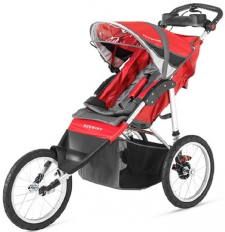 Schwinn Arrow Single Stroller – Red/Black