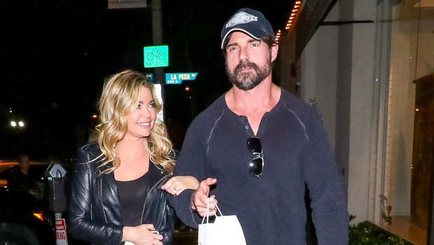 Denise Richards Goes Makeup-Free WhileCuddling With Her Hunky Husband AaronPhypers In Montana