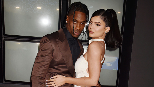 Travis Scott Flirts With Kylie Jenner On IGAfter She Poses In Sexy, Strapless Top