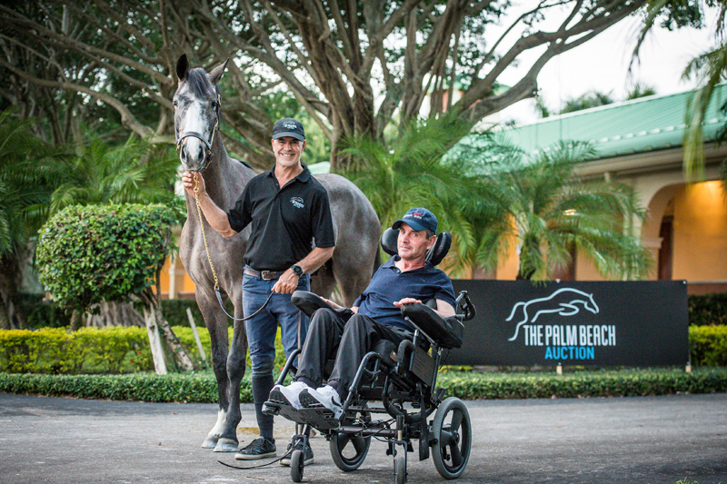 Give Support, Get Support: The Palm Beach Auction Steps Up For Kevin Babington