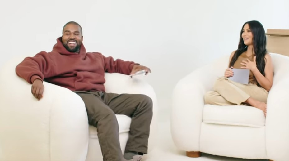 Watch North West Adorably Crash Kim Kardashian and Kanye West's Interview