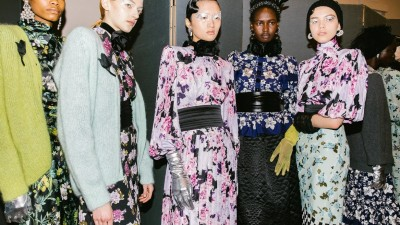 Erdem Put This Drugstore Staple to Glamorous Use at London Fashion Week