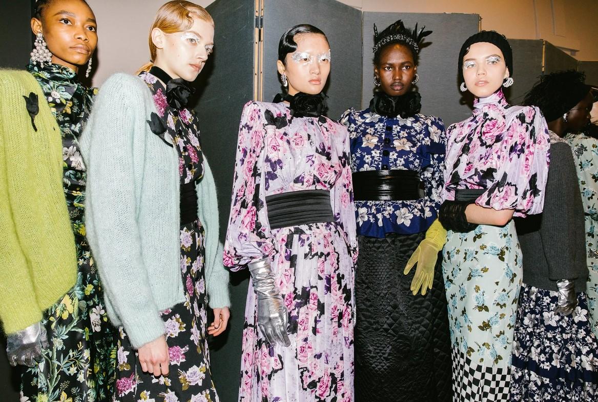 Erdem Put This Drugstore Staple to Glamorous Use at London Fashion Week
