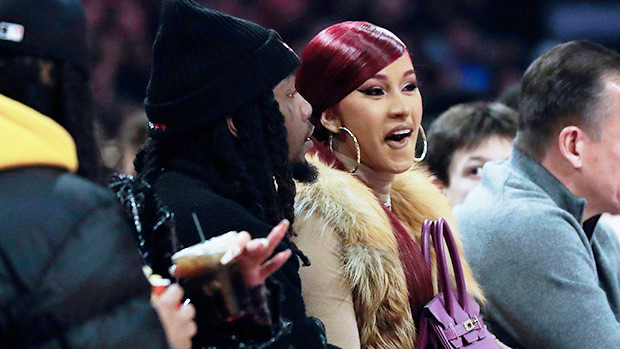 Cardi B Channels 'From The Block'Jennifer Lopez At NBA All-Stars GameWith Hubby Offset
