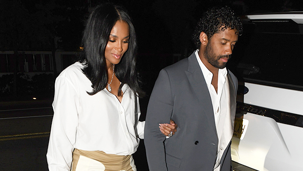 Ciara Shows Off Baby Bump In Mini SkirtOn Date Night After Announcing3rd Pregnancy