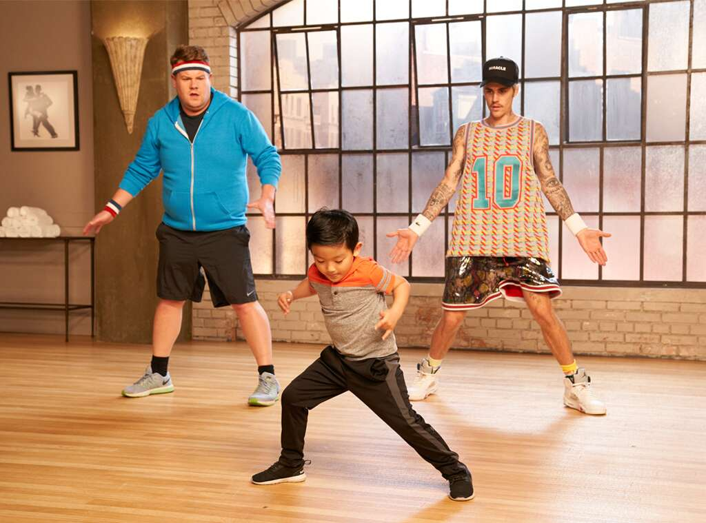 You Must See Justin Bieber Learning Choreography From Adorable Toddlers