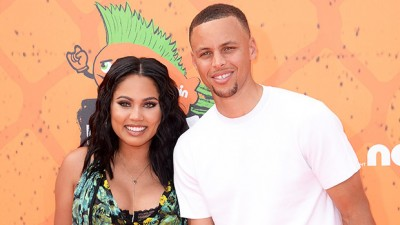 Ayesha Curry PDA's With AdoringHusband Steph In Sexy Green BikiniOn Vacation