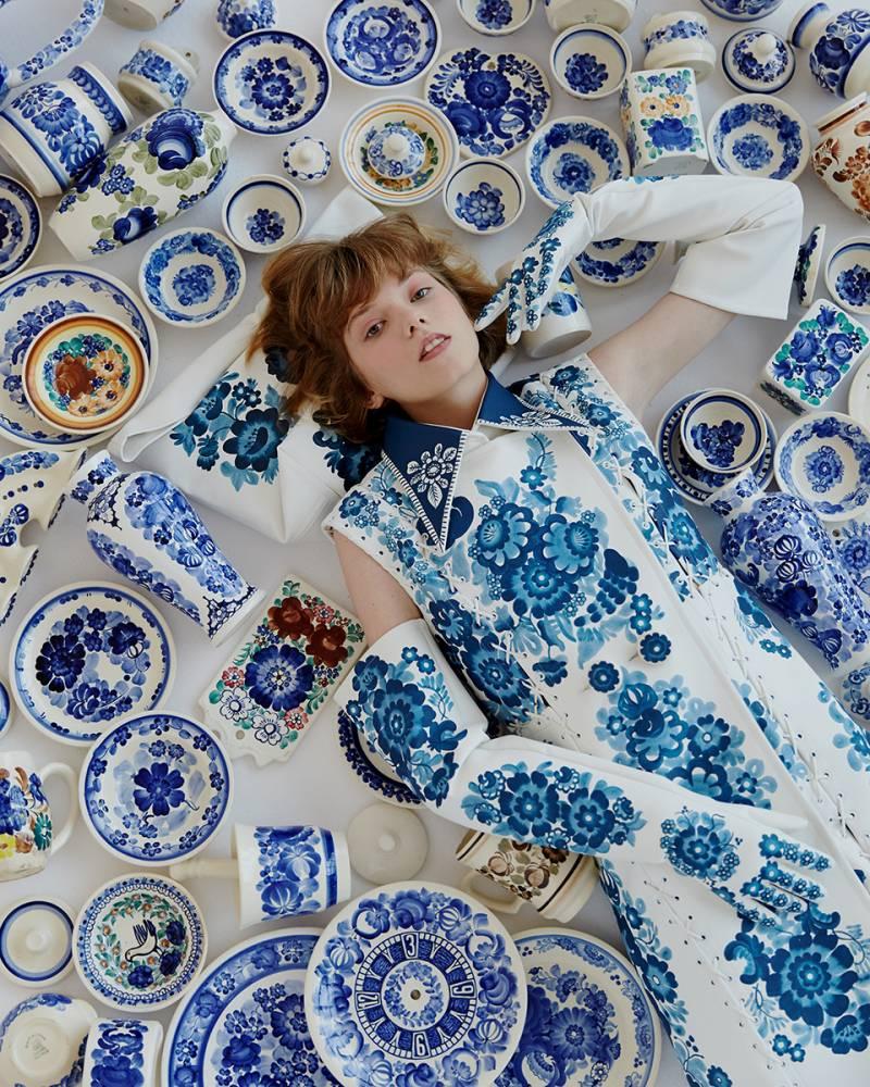 "Polish Designer Duet inspired by ""fajans"" traditional craftsmanship"